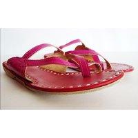 Bonjour Store Women's Pink Flats