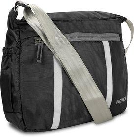 Novex Evoq Black Sling Bag