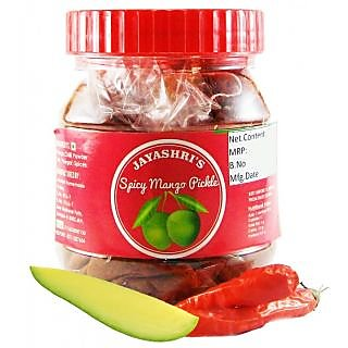 Jayashri's Spicy Mango Pickle 500 gm