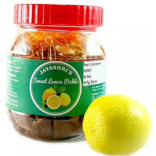 Jayashri's Sweet Lemon/Lime Pickle 500 gm