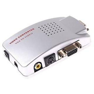 vga to pal tv video converter s video adapter ntsc pal pc to tv rh shopclues com TV to VGA Converter Pal Ntsc Converter