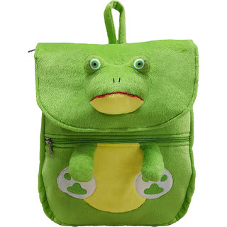 Ultra Frog Face School Bag 14 Inches- Green