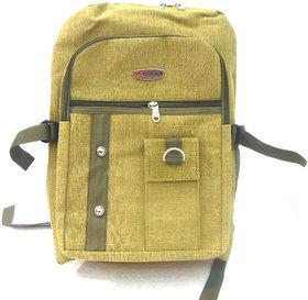 Multi Pockets Canvas 30 Ltrs Denim Backpack