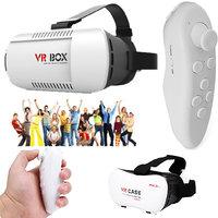 Tech Gear Google Cardboard VR BOX Virtual Reality 3D Gl