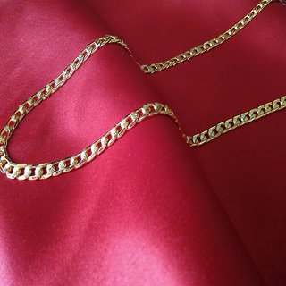High quality 22k gold plated designer chain for men and boys 22inch c-19