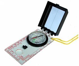 MAGNETIC Base Plate Map Compass Ruler Scale Scouts Camping Hiking