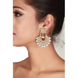 Jugniji Copper Dangle Earring