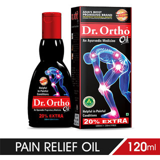 Dr Ortho Ayurvedic Joint Pain Relief Oil 120ml