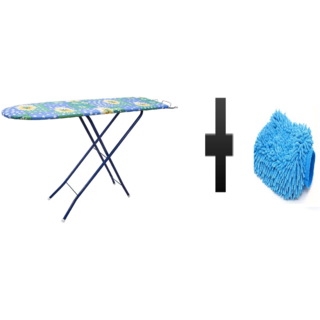 s4d Folding Ironing Board and free microfiber hand glove one pc colour assorted02