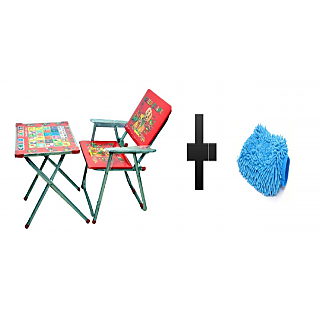 s4d Steel Art Multipurpose Metal Desk Chair and free microfiber hand glove one pc colour assorted02