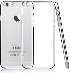 Ultra Thin Flexible Soft Transparent Back Cover Case for  iPhone 6 / 6s
