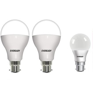 Eveready 12W6500K Cool Day Light Pack of 2 with 9W Led Bulb Free