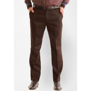 Inspire Coffee Slim Fit Formal Trouser