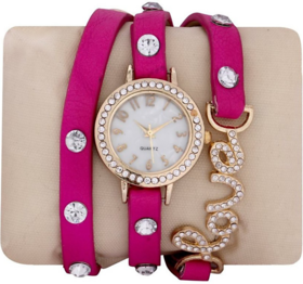 i DIVAS  Supper Women Pink watches ladies watches girls watches designer watches love watches