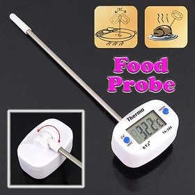 Gadget Hero's Barbeque BBQ Food Probe Kitchen Cooking Thermometer Sensor Range -50 to +300 C Large Digital LCD Display With 180 Angle Adjustment