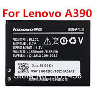 Original Lenovo BL171 Battery For A65 A370E A368 A60 A390 A500 A390T