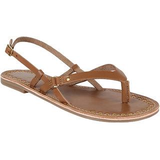 Zebba Girls Tan Sandals (100Z20740) ]100Z20740