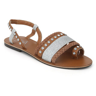 Zebba Girls Tan Sandals (100Z20340) ]100Z20340