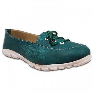 Austrich Green Casual Shoes