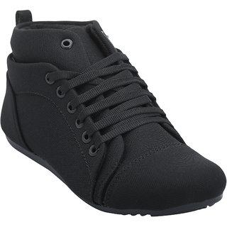 48d8c1947f9 Rs.499 · Hansx Girls Black Lace-up Casual Shoes GS-HANSX-1221BLACK