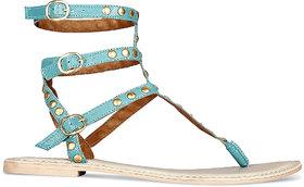 amma blue sandal ]