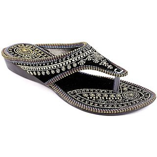 Stellar Collections Girls Flats ocasion casual color black ]