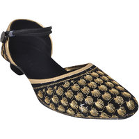 Forever Footwear Girls Multicolor Heel Sandal ]FSB365