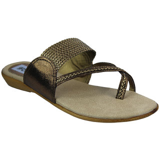 Faith Girls'S Golden Rod Sandals ]faith_flats_antique_3018_01