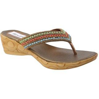 Faith Girls'S Golden Rod Sandals ]faith_wedges_antique_138_01