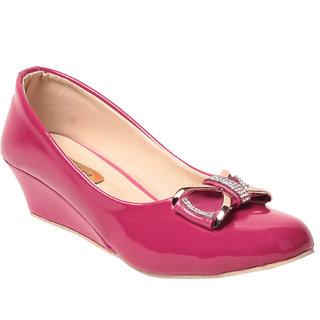 Msc Girls'S Pink Platform Heel MSC-RR48-04-PINK