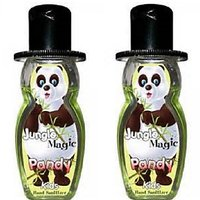 Jungle Magic Kids Hand Sanitizer Set of 2 bottles of 50 ml each - Pandy