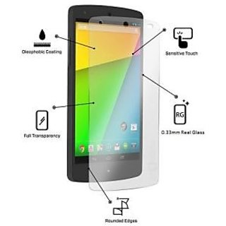 LG Google Nexus 4 Tempered Glass Screen Protector/Guard