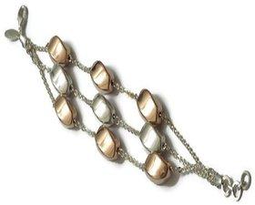 Stunning & Charming Bracelet In Pure 925 Silver For Regular Wear