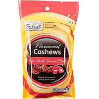 Flavoured Cashews Honey Garlic Salted Green Chilly Red Chilly Etc.