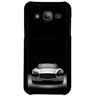 Fuson Designer Phone Back Case Cover Samsung Galaxy J2 -2015 ( Front View Of The Car )
