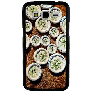 Fuson Designer Phone Back Case Cover Samsung Galaxy J7 -2015 ( Beautiful Buttons )