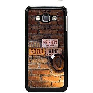 Fuson Designer Phone Back Case Cover Samsung Galaxy J1- 2016( Bon Appetit )