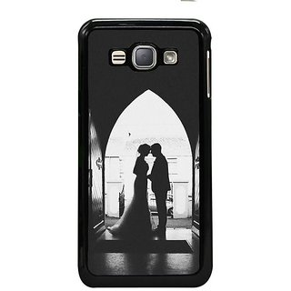 Fuson Designer Phone Back Case Cover Samsung Galaxy J1- 2016( On The Wedding Day )