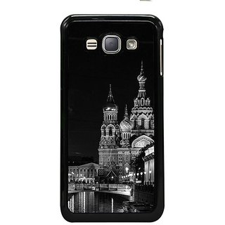 Fuson Designer Phone Back Case Cover Samsung Galaxy J1- 2016( Calming Walk At Night In Russia )