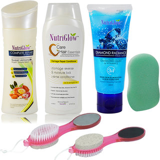 Hair Spa Kit Combo Of 5pcs For Unisex With Body Spoonze