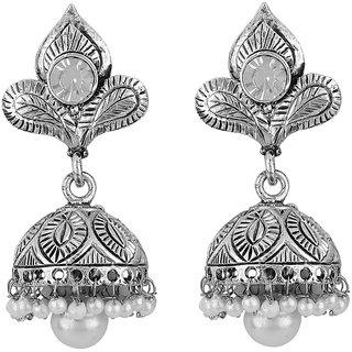 Styylo Jewels Silver Earrings Jhumki