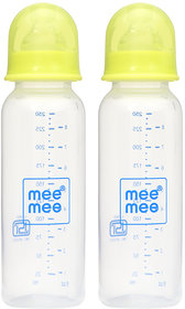 Mee Mee Eazy Flo Premium Baby Feeding Bottle_Green_250nl