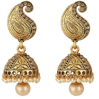 Styylo Fashion Golden Jhumki