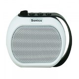 Sonics IN-BT504 Portable Bluetooth Mobile/Tablet Speaker  (White, single unit Channel)