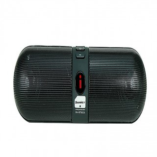 Sonics IN BT603 Portable Bluetooth Mobile/Tablet Speaker   Black, single unit Channel