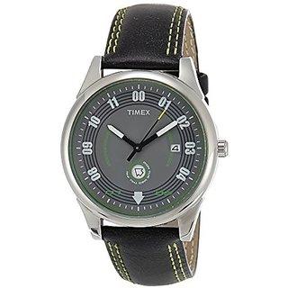 Timex Quartz Black Dial Mens Watch-TI000V10000