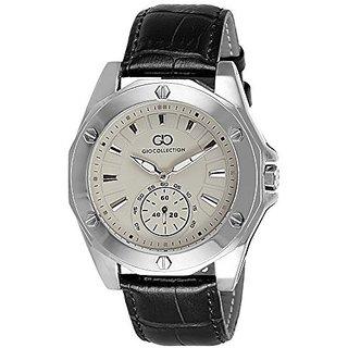 Giordano Quartz White Dial Mens Watch-G1003-01