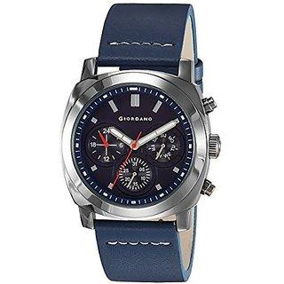 Giordano Quartz Blue Dial Mens Watch-1751-03