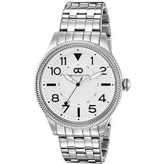 Giordano Quartz White Dial Mens Watch-G1005-11