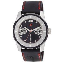 Fastrack Quartz Black Round Men Watch 3099SP04